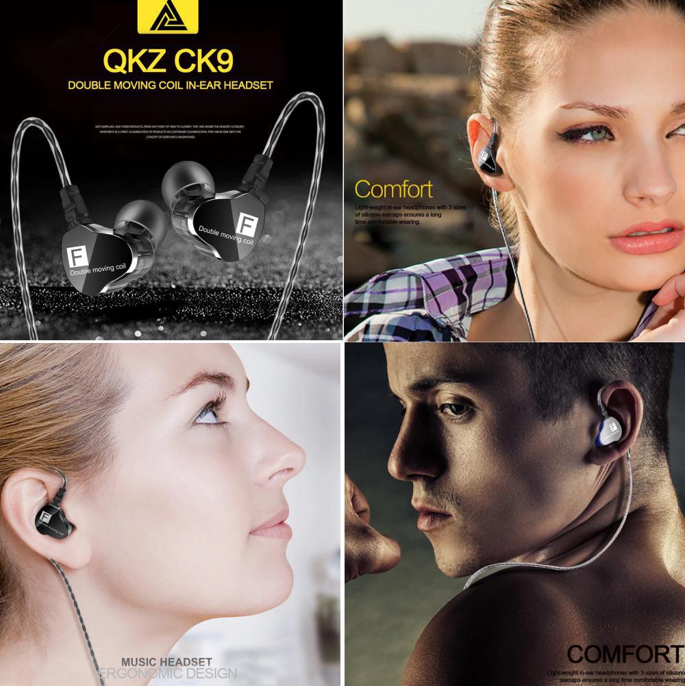 Qkz Ck9 Hifi In Ear Earphones (2)