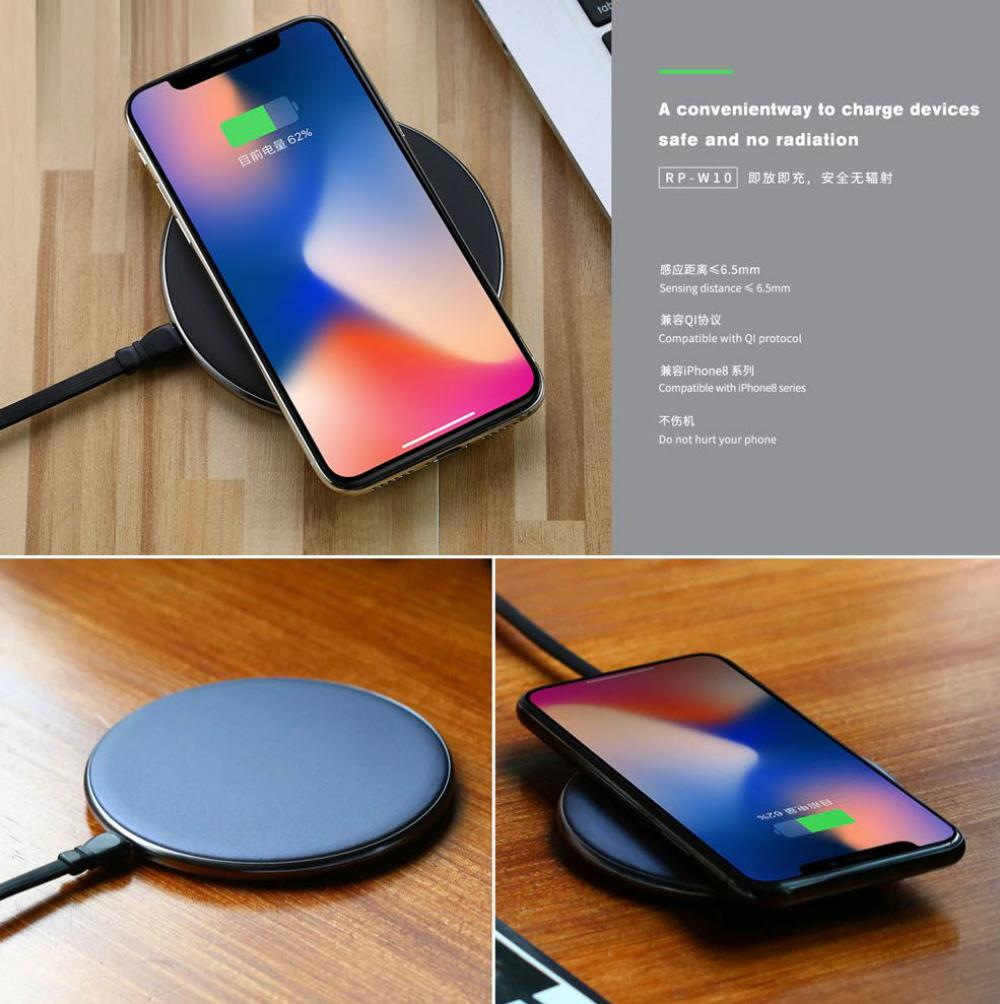 Remax Rp W10 Qi Wireless Charger (2)