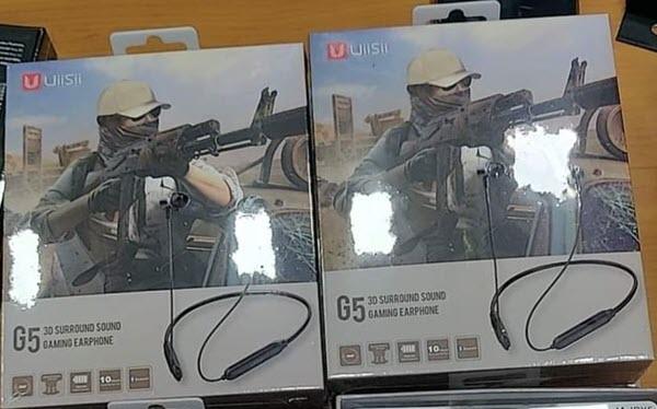 Uiisii G5 Gaming Bluetooth Earphones (2)