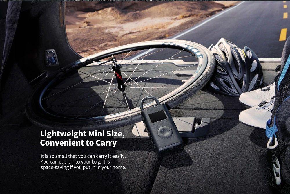 Xiaomi 150psi Air Pump Compressor For Car Bike Basketball Football (3)