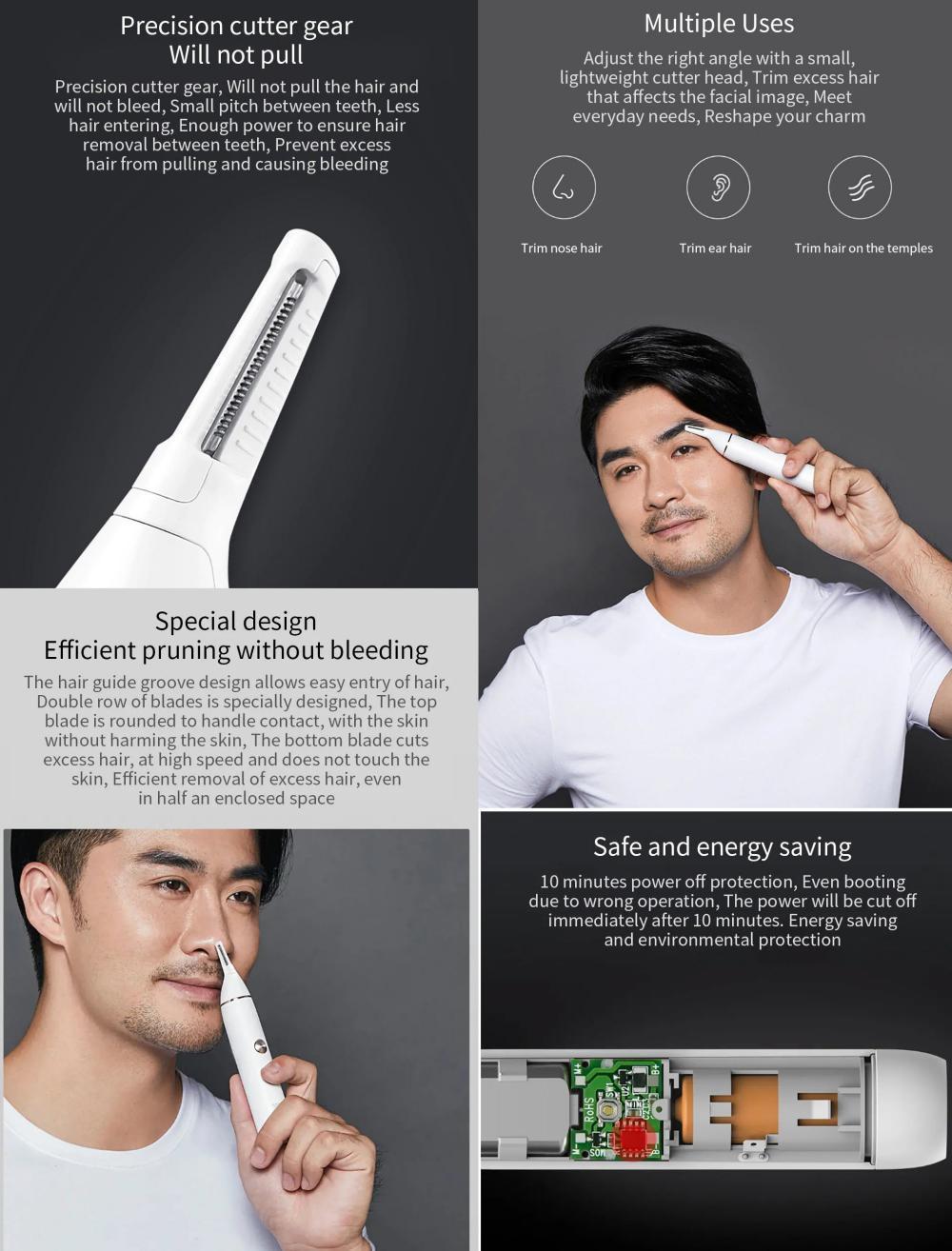 Xiaomi Soocas N1 Nose Hair Eyebrow Trimmer (1)