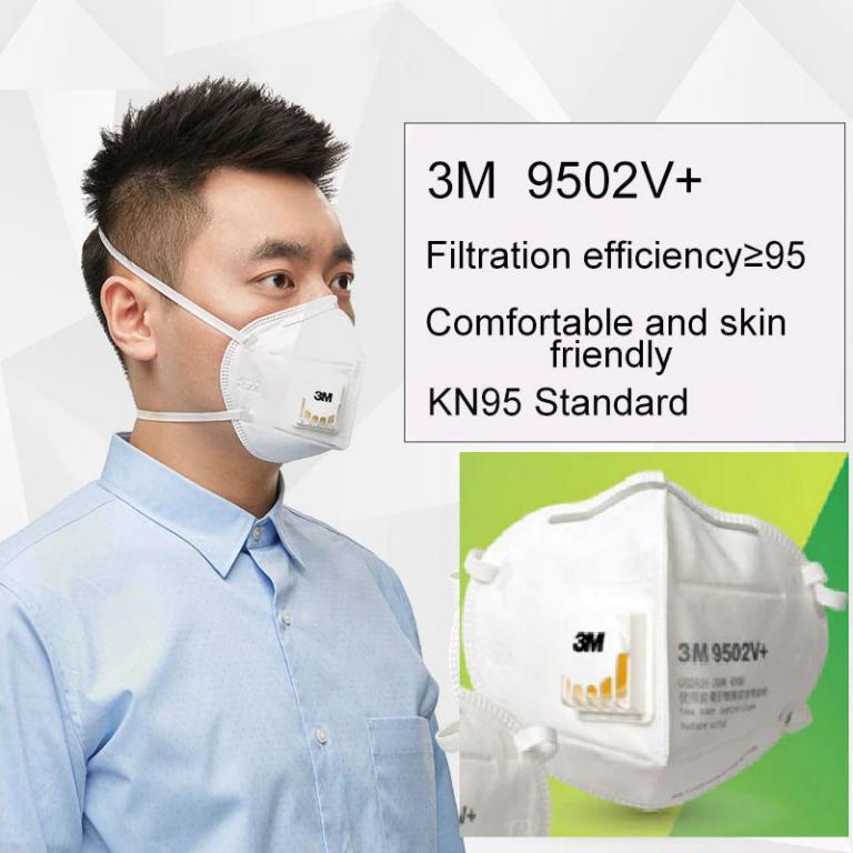 3m 9502v Kn95 Protective Face Mask (3)