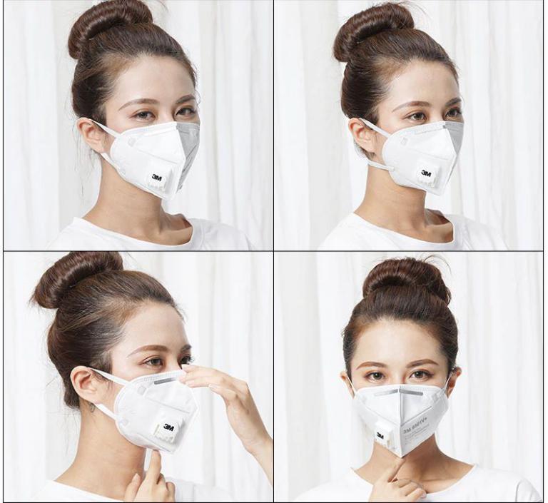 3m 9502v Kn95 Protective Face Mask (4)