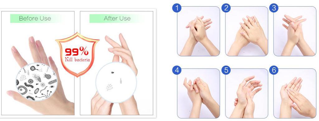 Advanced Homemade Hand Sanitizer (2)