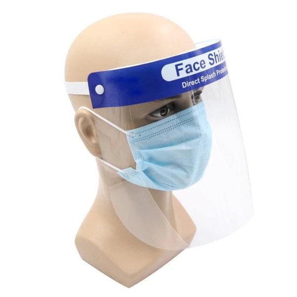 Face Shield Splash Proof Transparent Protective Mask (2)