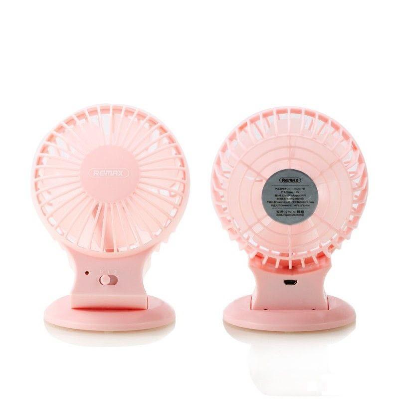 Remax F18 Dual Vane Design Portable Mini Stand Usb Fan (3)