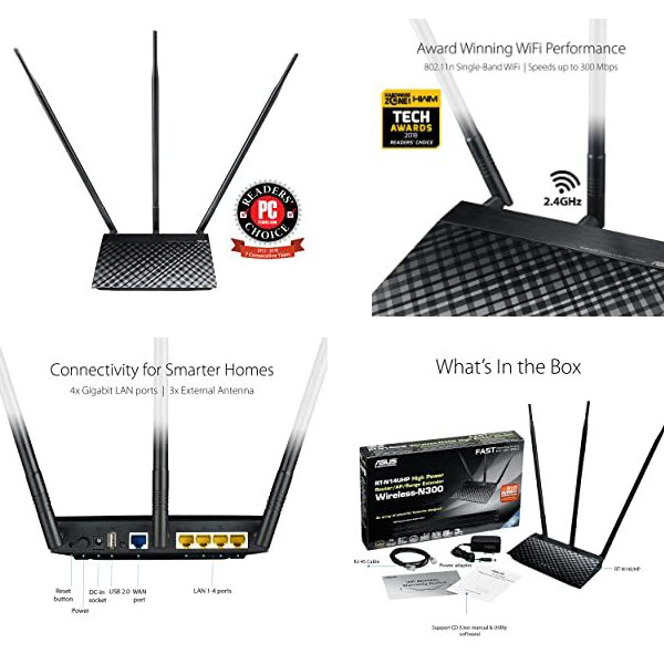 Asus Rt N14uhp N300 Router (1)