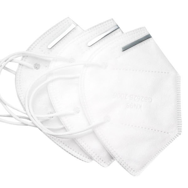 Kn95 Mask With Adjustable Nose Bar Clip (1)