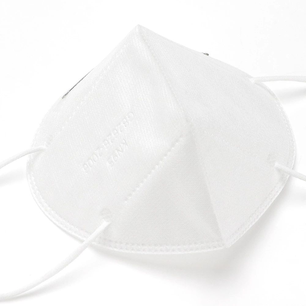 Kn95 Mask With Adjustable Nose Bar Clip (2)