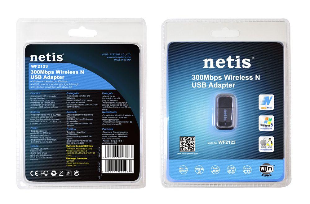 Netis Wf2123 300mbps Usb Wireless Adapter (1)
