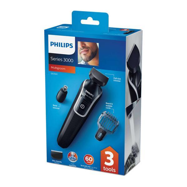 Philips Qg3320 15 Multigroom Series 3000 3 In 1 Beard Trimmer (5)