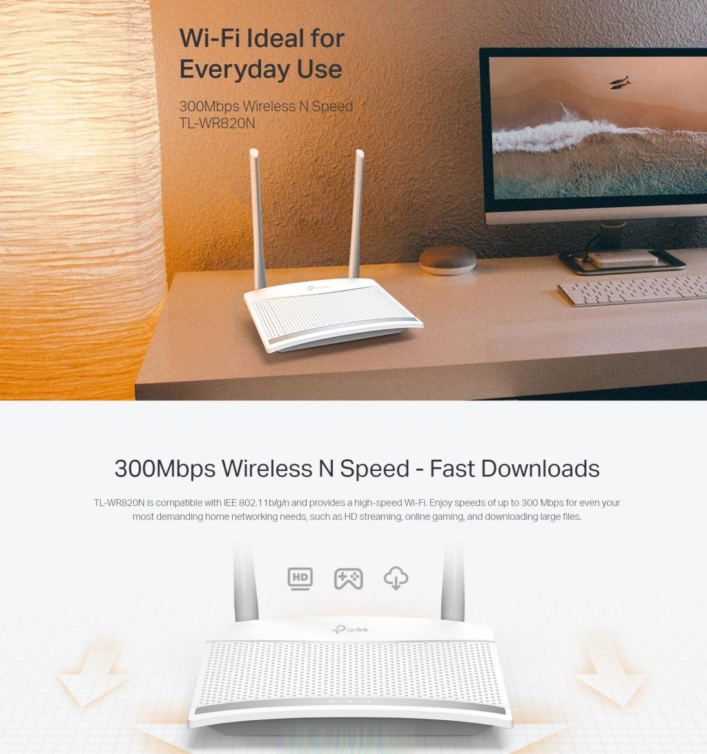 Tp Link Tl Wr820n 300mbps Wireless N Speed Router (1)