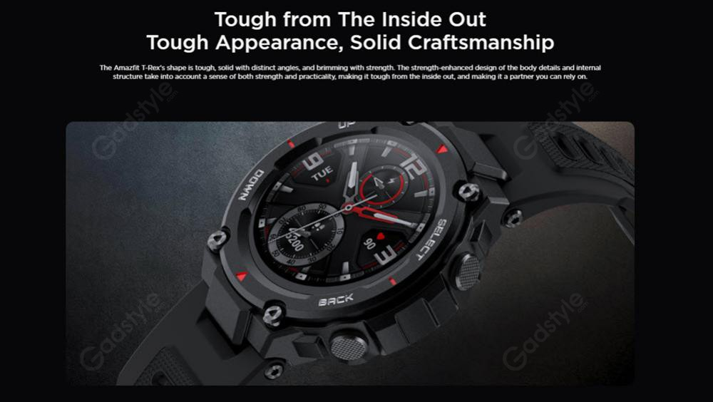 Amazfit T Rex Dual Gps Smartwatch With Military Grade Certifications (7)