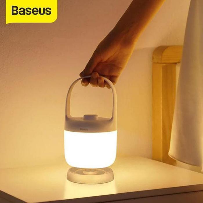 Baseus Moon White Series Portable Color Lamp (1)