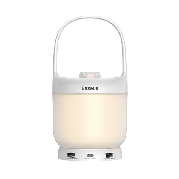 Baseus Moon White Series Portable Color Lamp (5)