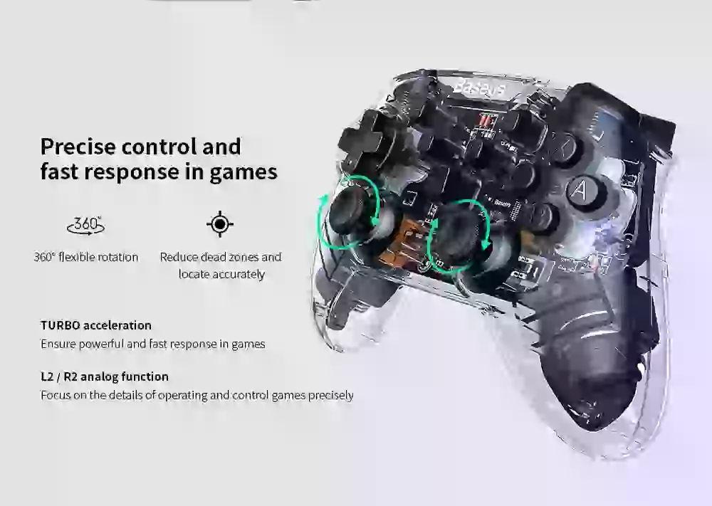 Baseus Motion Sensing Vibrating Gamepad (1) 1