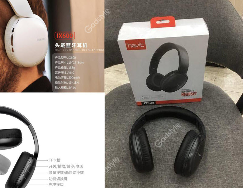 Havit Ix600 Supper Bluetooth Headset (2)