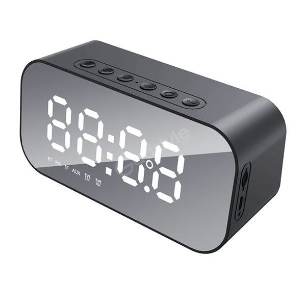 Havit M3 Wireless Bluetooth Speaker With Alarm Clock Radio (3)