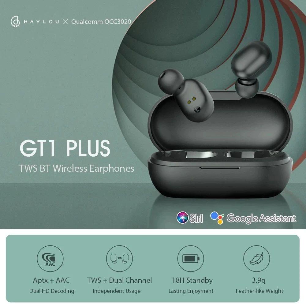 Haylou Gt1 Plus Tws Bluetooth 5 0 Earphones Ipx5 Waterproof (4)