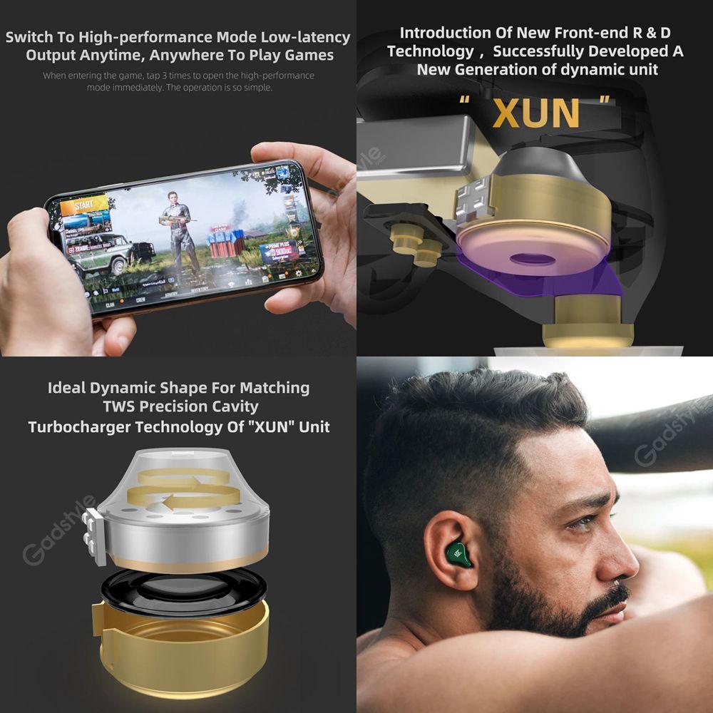 Kz Z1 Tws True Wireless Bluetooth 5 0 Earbuds (10)