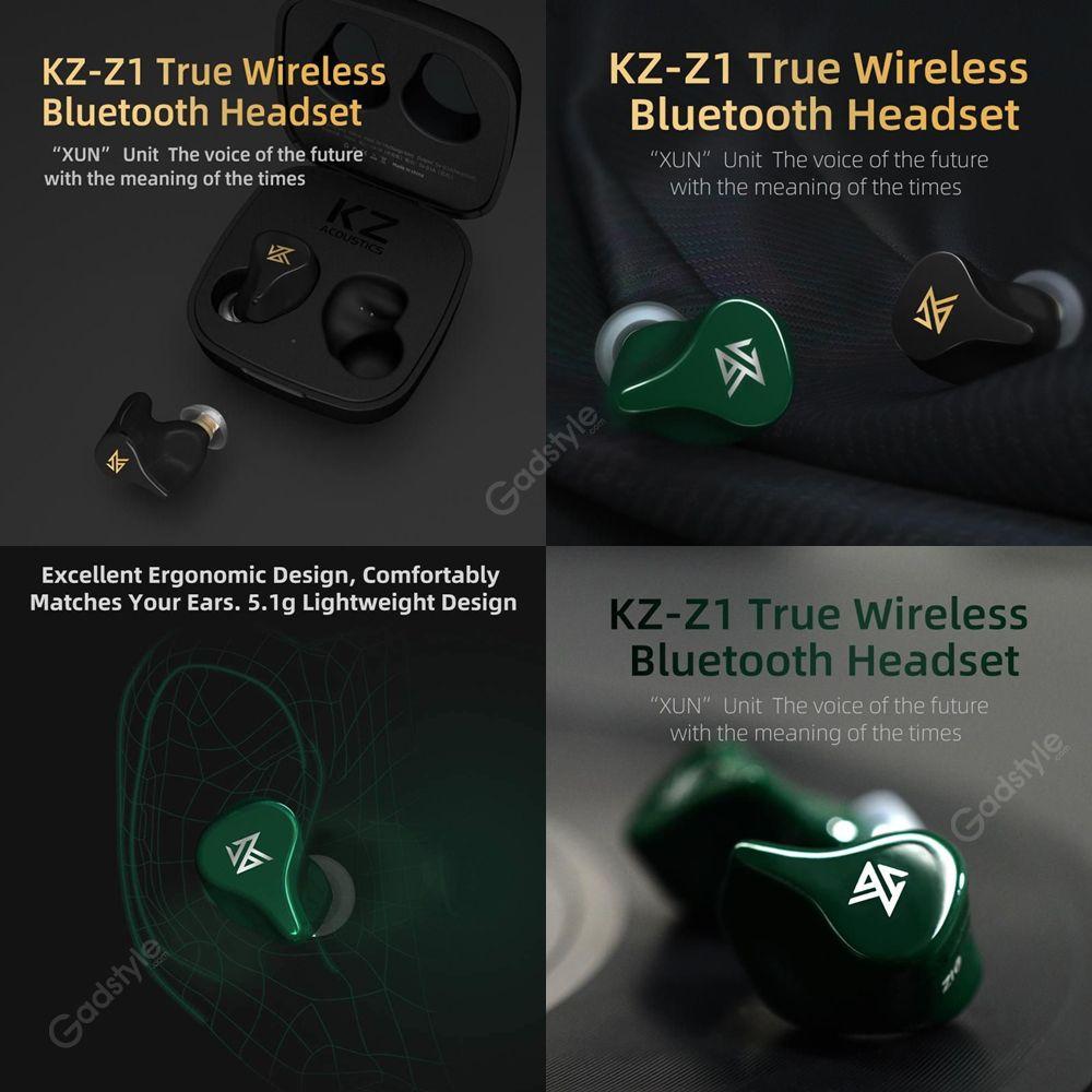 Kz Z1 Tws True Wireless Bluetooth 5 0 Earbuds (11)
