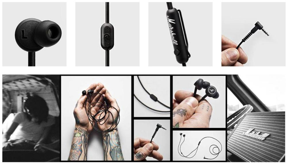 Marshall Mode In Ear Wired Earphones (1)
