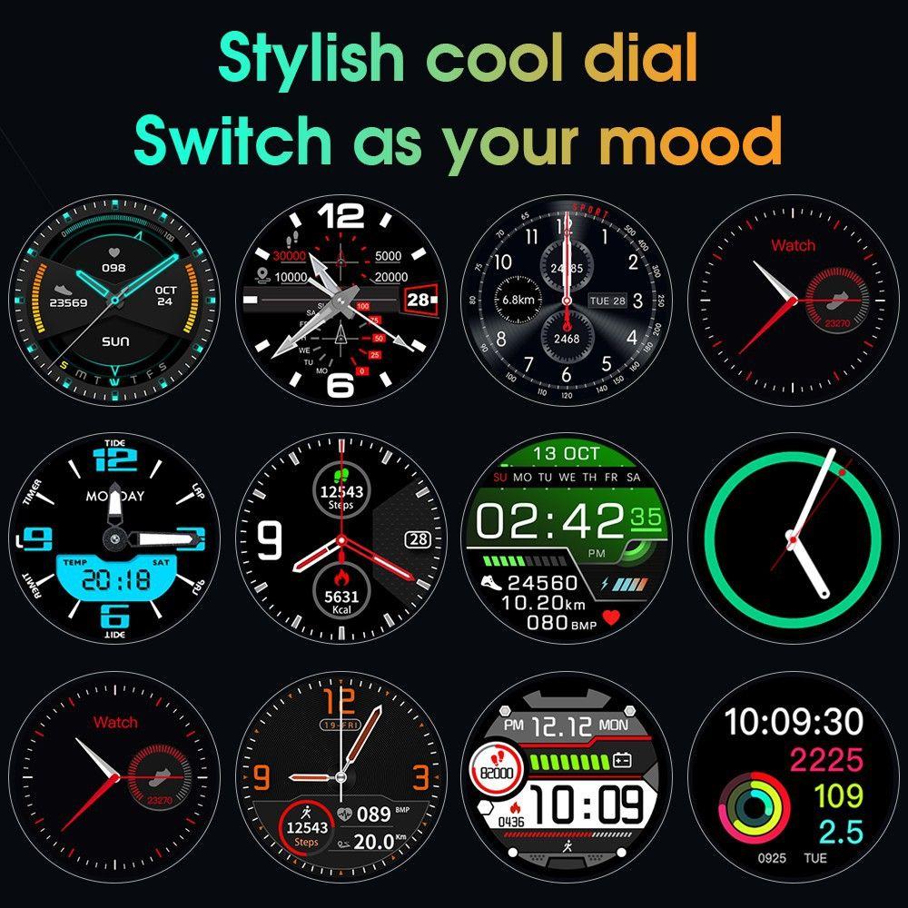 Microwear L13 Smartwatch Ip68 Waterproof (2)