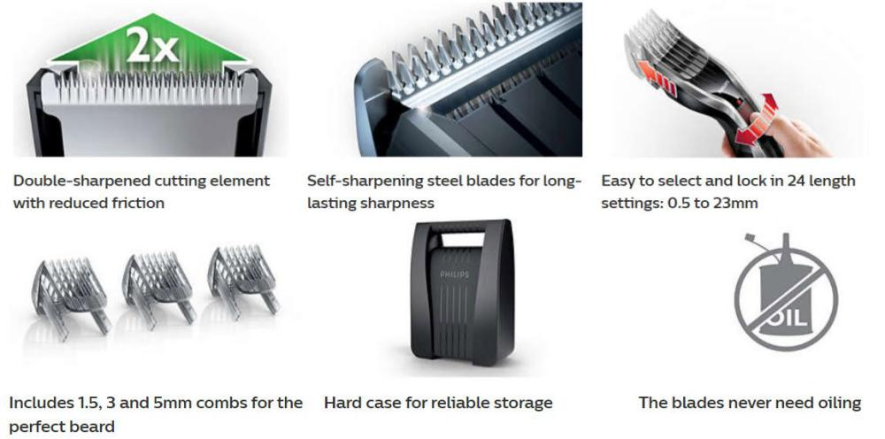 Philips Hc5440 Hair Clipper With Dualcut Technology (5)