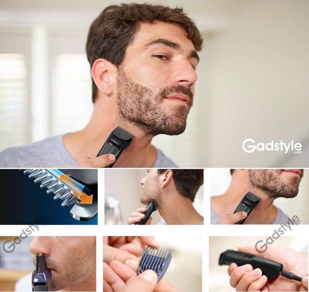 Philips Mg3710 Multigroom Series 3000 6 In 1 Beard Trimmer (1)
