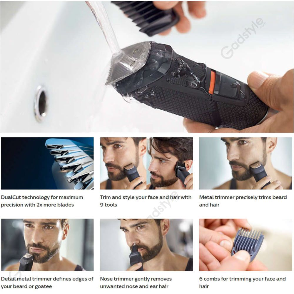 Philips Mg5720 9 In 1 Face And Hair Trimmer (4)