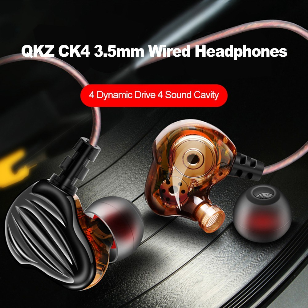 Qkz Ck4 Dual Driver In Ear Earphones (7)