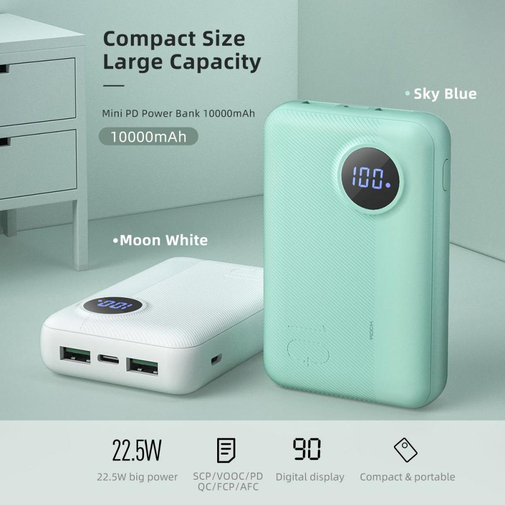 Rock P75v 10000mah Mini Power Bank With Pd Qc 3 0 (3)