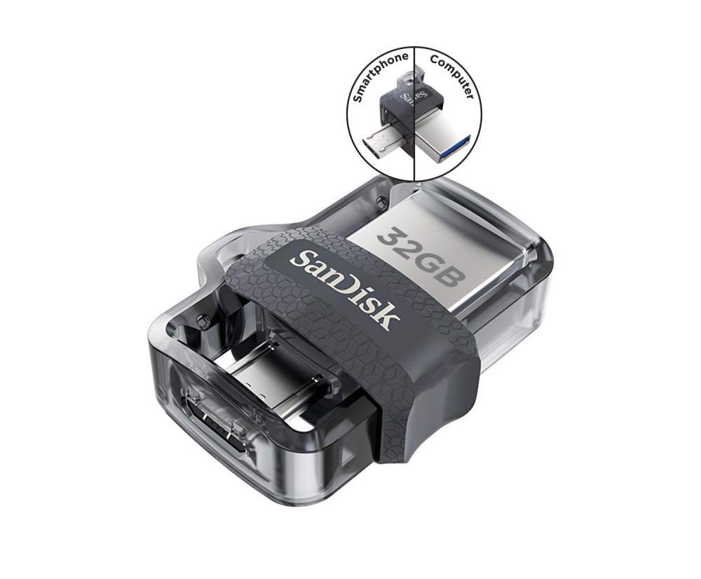 Sandisk Ultra Dual Usb 3 0 Otg Pen Drive 16gb 32gb 64gb 128gb (4)