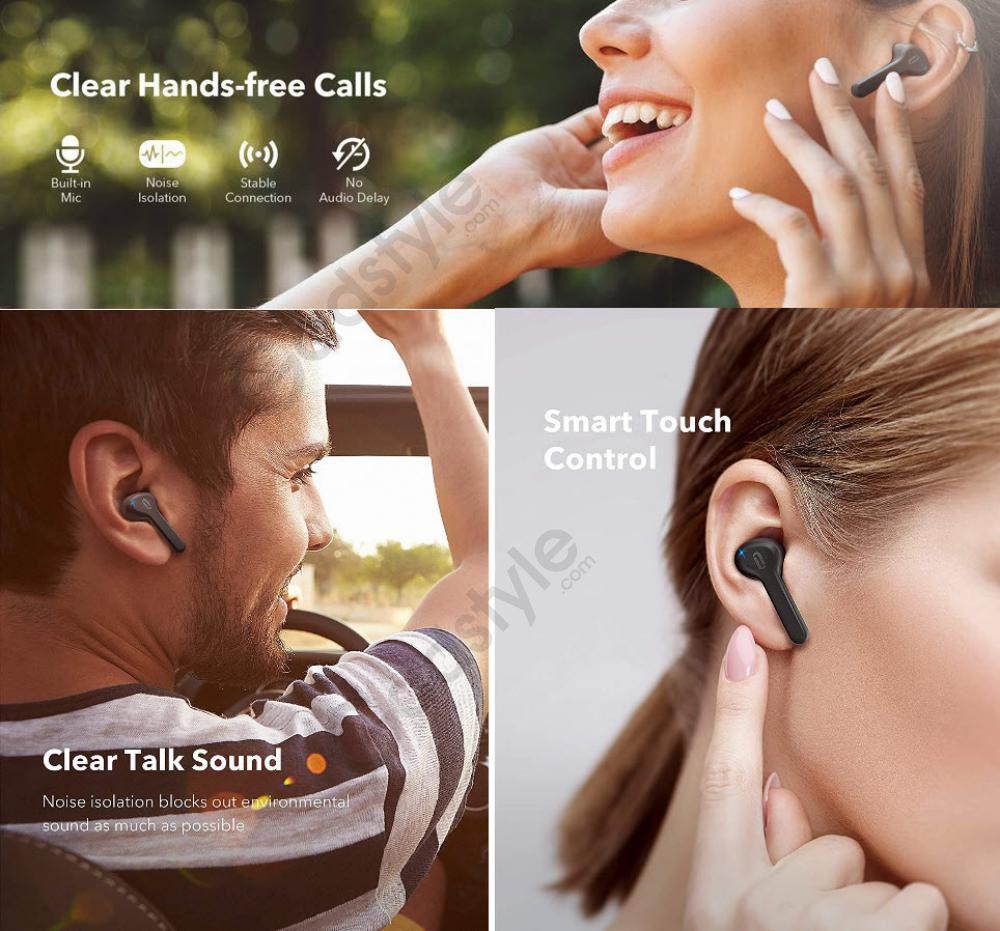 Taotronics Ttbh053 Tws Bluetooth Earphones (1)