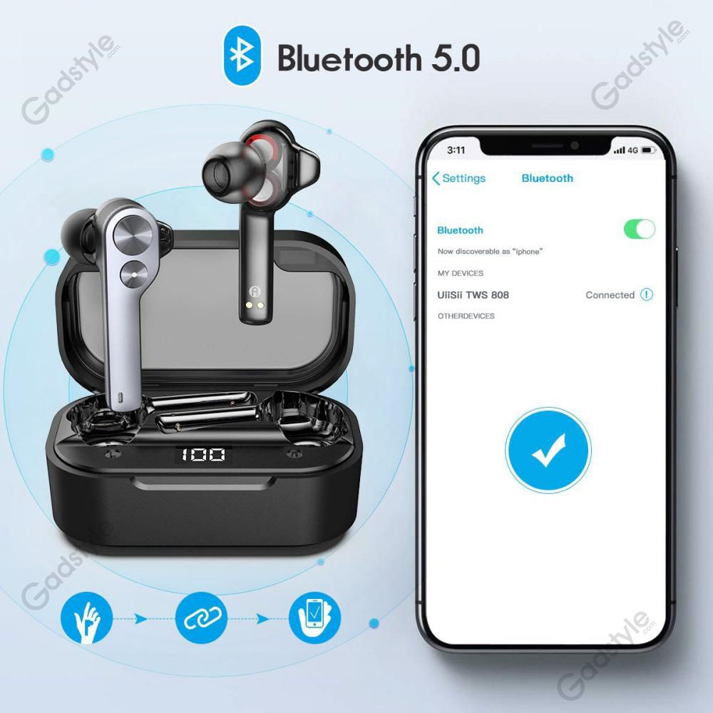 Uiisii Tws808 Airpods Wireless Earbuds (1)