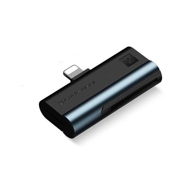 Usams Us Sj430 Lightning Port Card Reader Sd Cardtf Card (2)