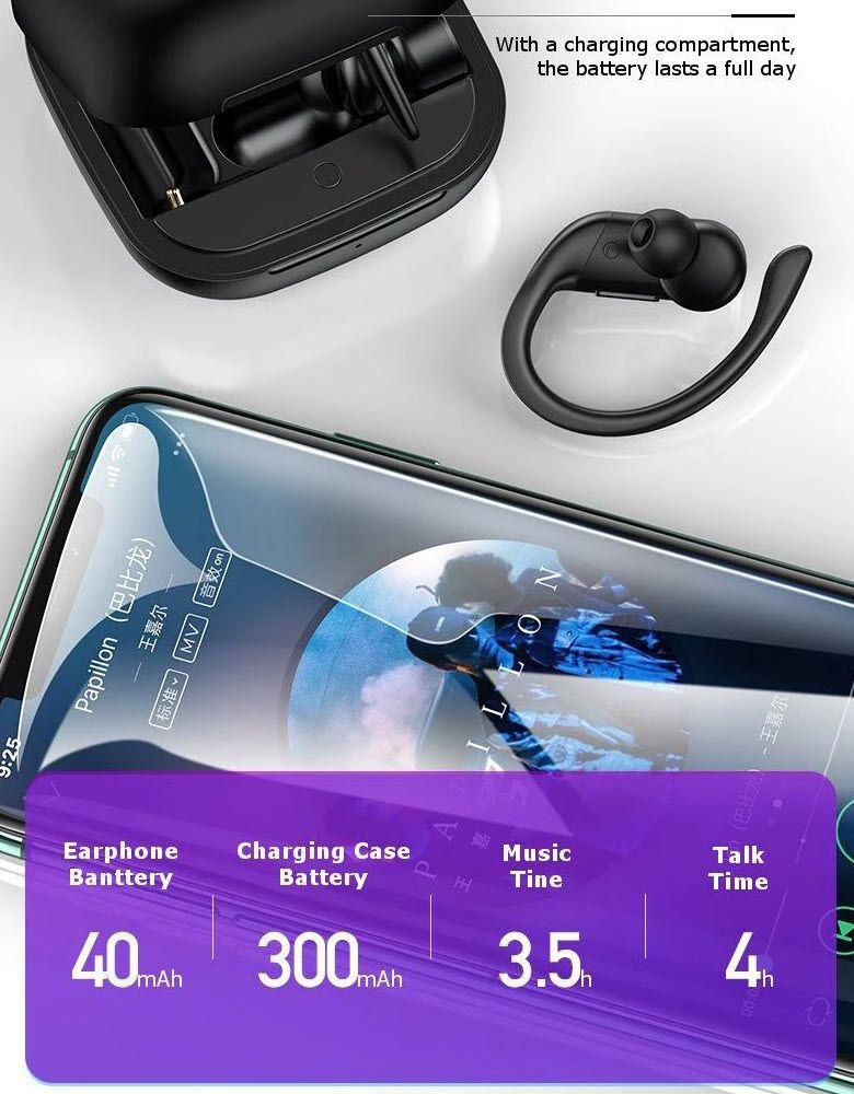 Usams Us Yi001 Yi Series Ear Hook Tws Waterproof Earphones (1)
