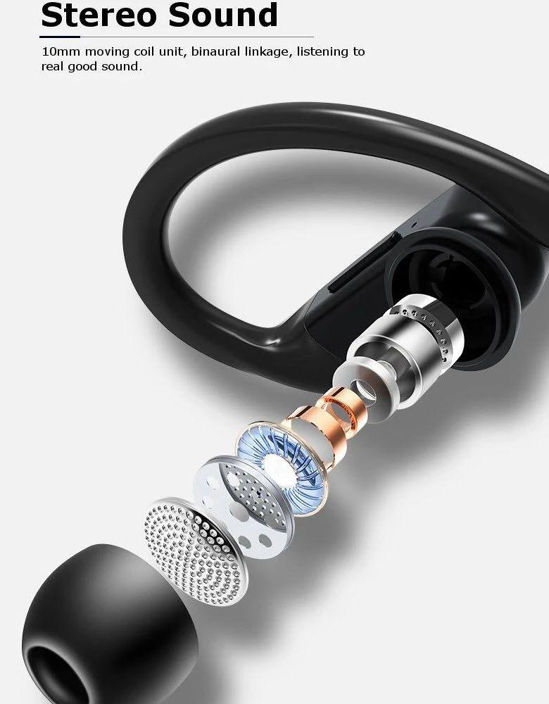 Usams Us Yi001 Yi Series Ear Hook Tws Waterproof Earphones (2)
