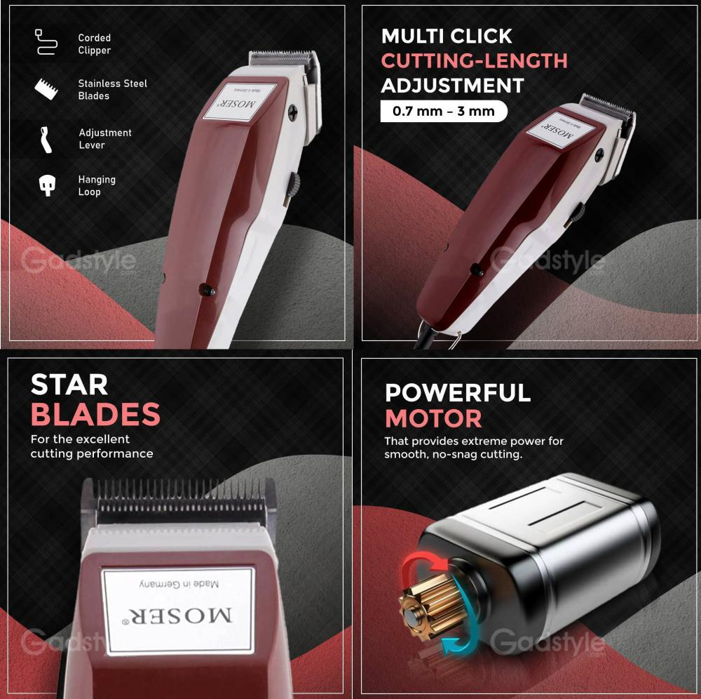 Wahl Moser 1400 Men Professional Electric Hair Clipper Trimmer (1)
