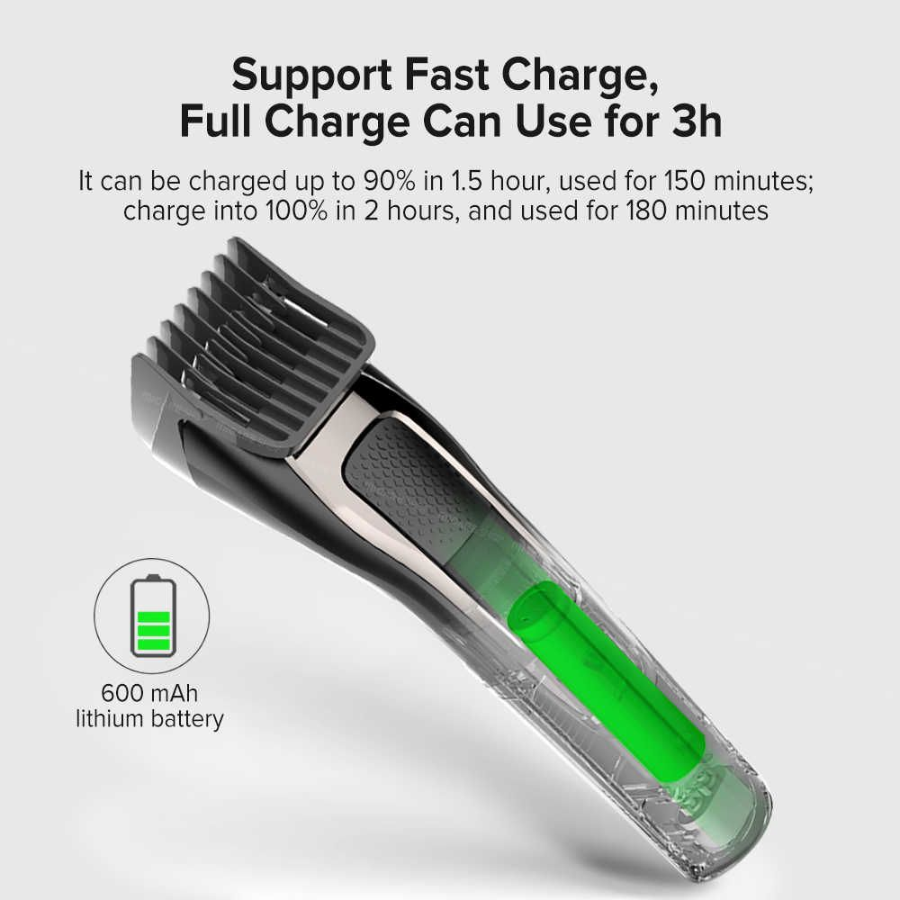 Xiaomi Enchen Sharp 3s Mens Rechargeable Hair Clipper (4)