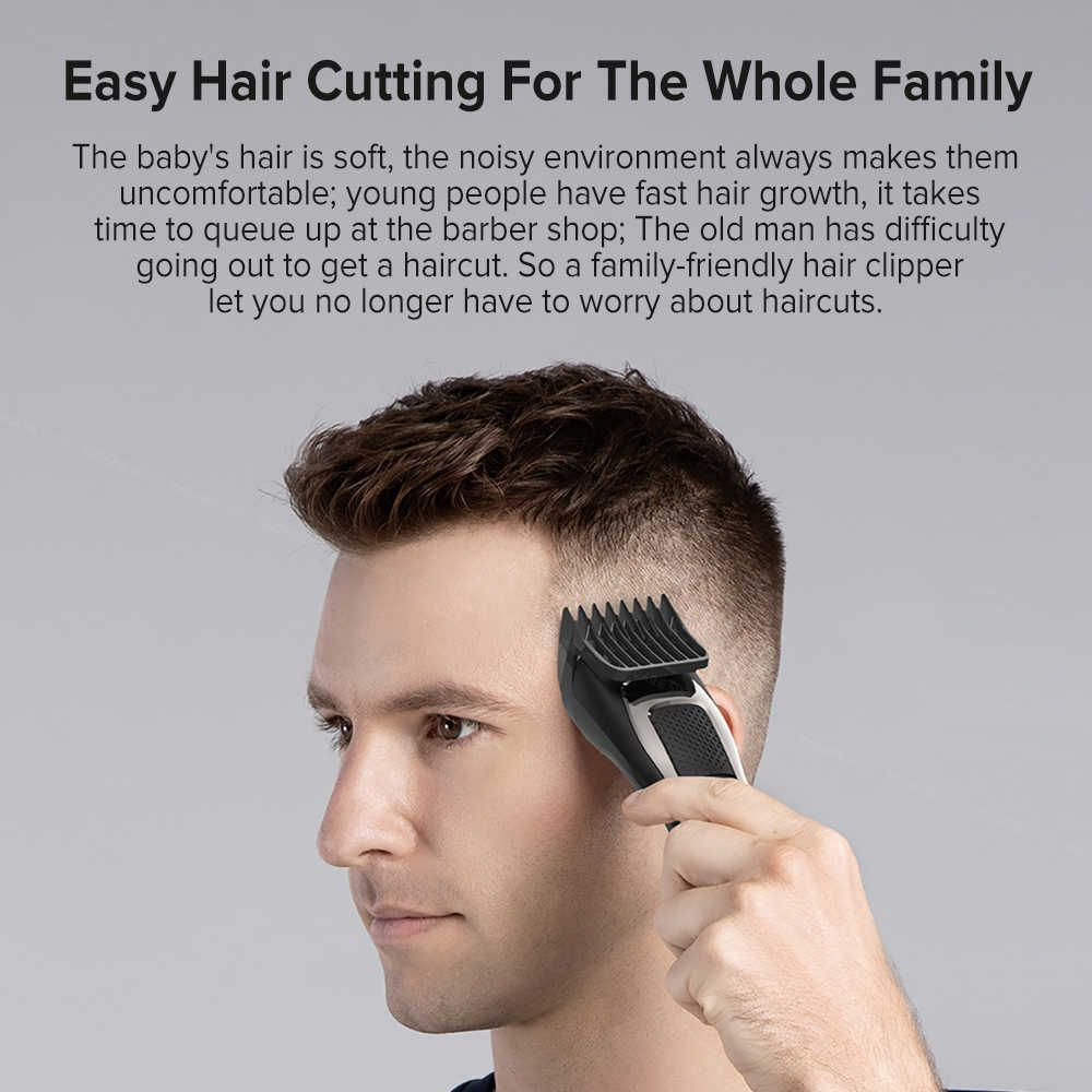 Xiaomi Enchen Sharp 3s Mens Rechargeable Hair Clipper (5)