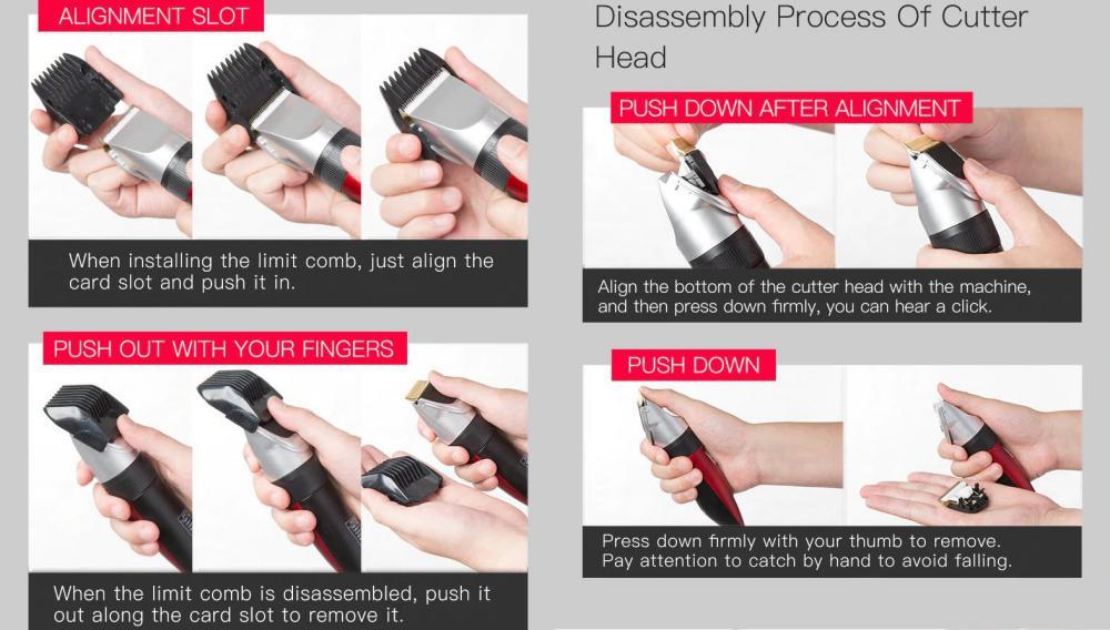Xiaomi Enchen Sharp Ec 712 Usb Rechargeable Hair Trimmer (5)