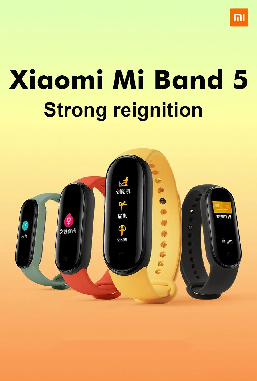 Xiaomi Mi Band 5 Amoled Display Smart Watch (7)