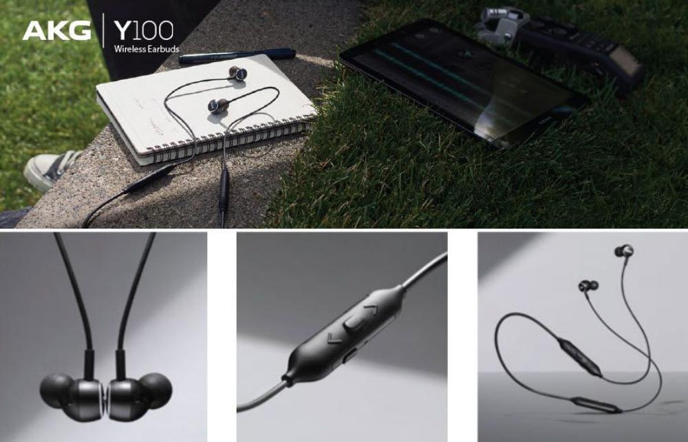 Akg Y100 Wireless Bluetooth Earphones (4)