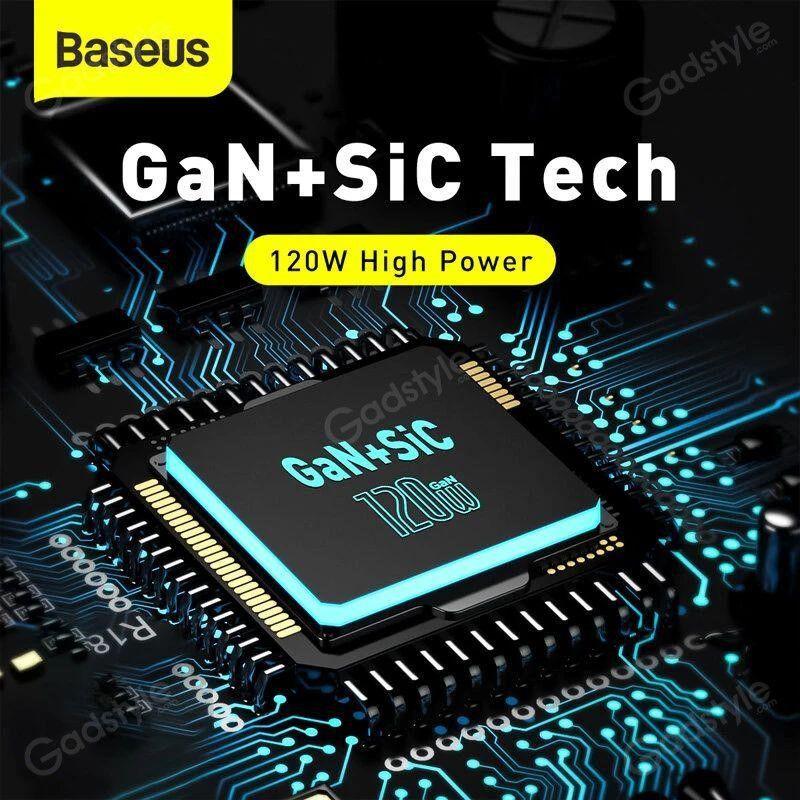 Baseus 102w Gan Mini Quick Charger Cca Ports (3)