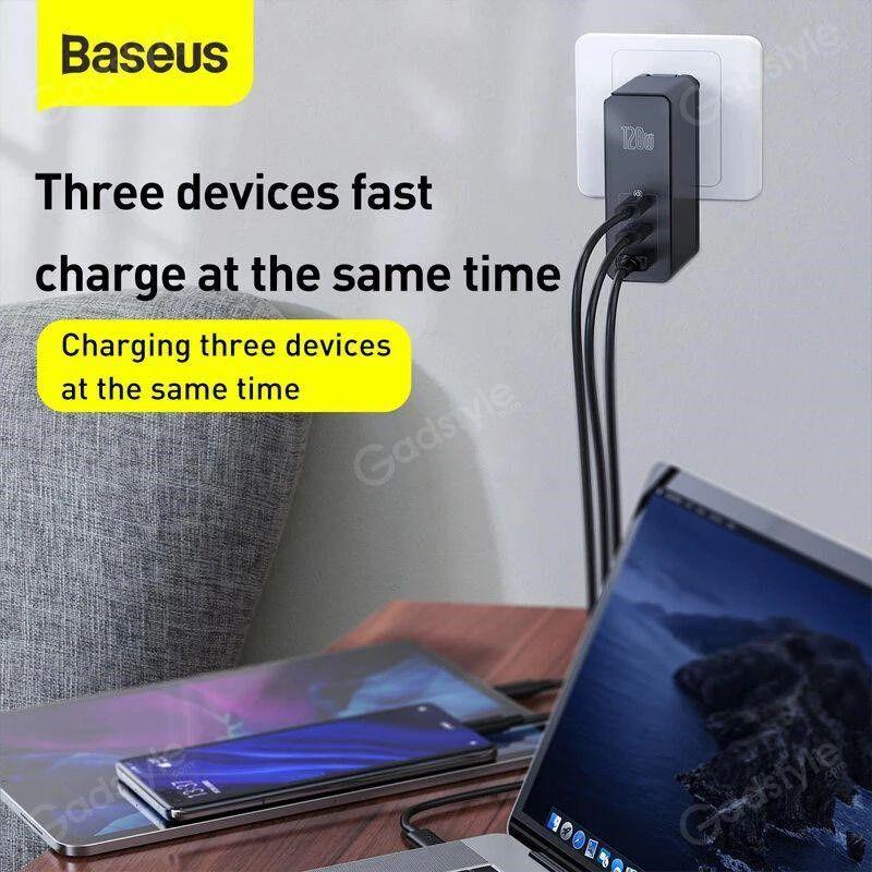 Baseus 102w Gan Mini Quick Charger Cca Ports (6)