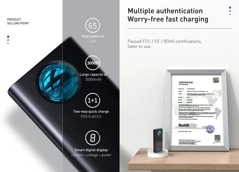 Baseus 65w Amblight 30000mah Power Bank With Digital Display (2)