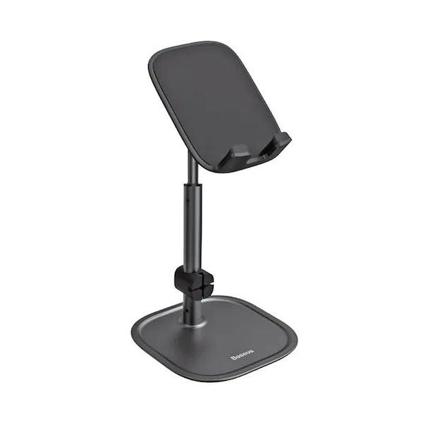 Baseus Adjustable Metal Mobile Phone Stand Desktop Holder For Smartphone Tablet (8)
