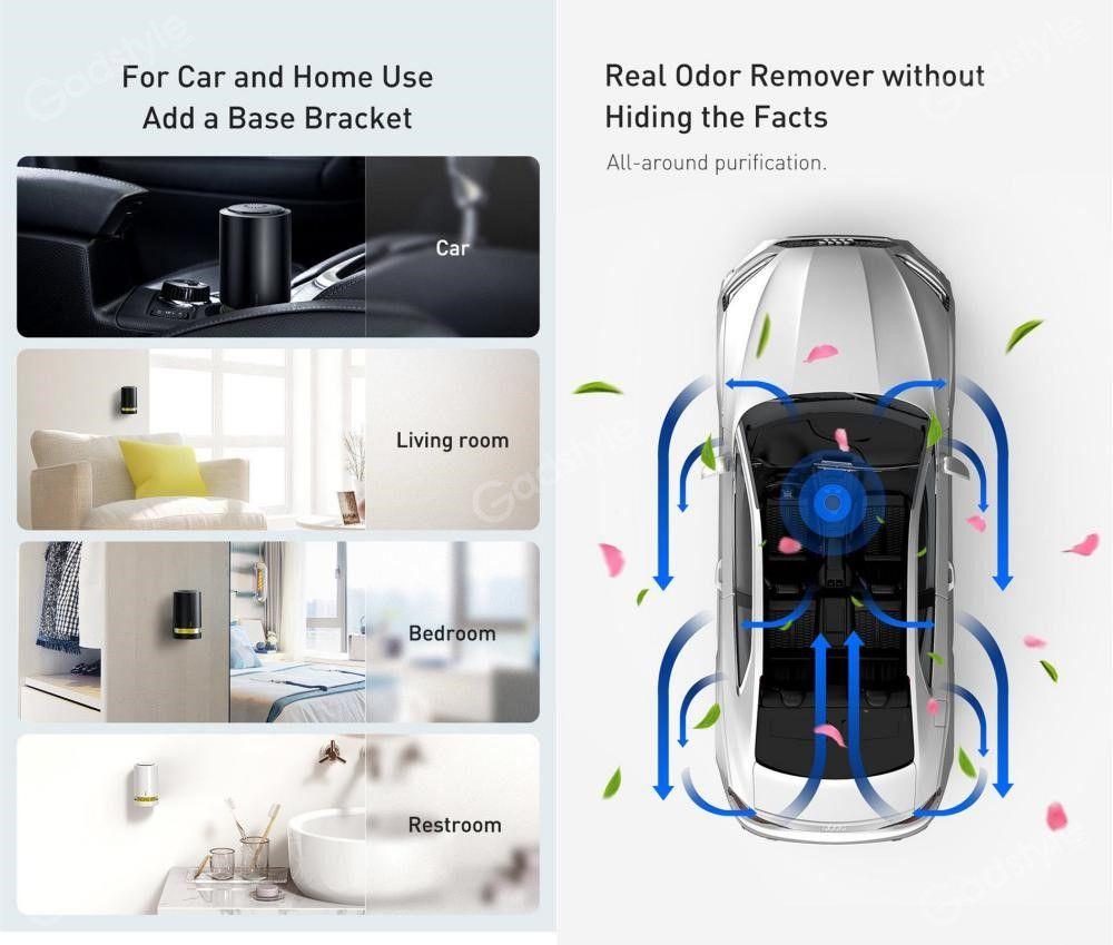 Baseus Micromolecule Degerming Device Car Sanitizer Air Purifier (6)