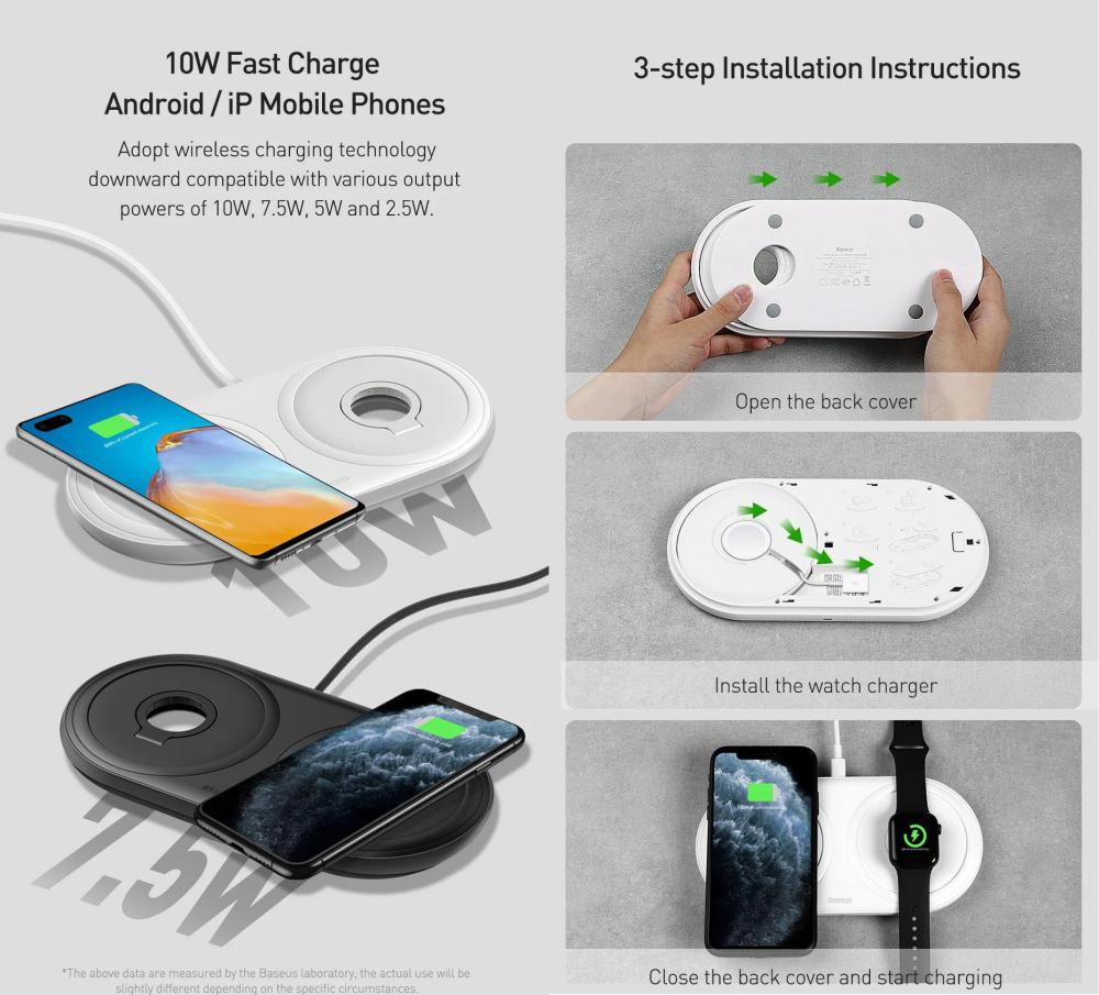 Baseus Planet 2 In 1 Iw Cable Winder Wireless Charger (3)